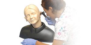 "Photo: ""EAR"" Examination  simulator"